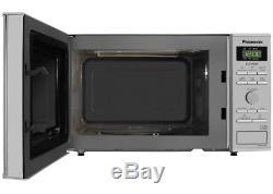 Panasonic NN-GD37HSBPQ Inverter Microwave Grill Oven 23 Litre 1000W S/Steel NEW