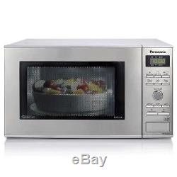 Panasonic NN-GD37HSBPQ Inverter Microwave Oven with Grill, 23 Litre, 1000W