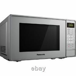Panasonic NN-K18JMMBPQ 800 Watt Microwave Free Standing Silver