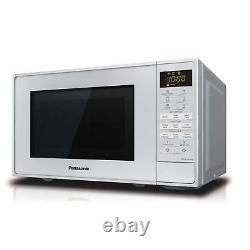 Panasonic NN-K18JMMBPQ 800w Microwave Oven & Grill, 20 Litre Silver