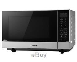Panasonic NN-SF464MBPQ 27L 1000W Flatbed Microwave