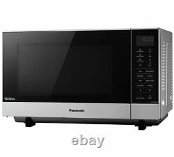 Panasonic NN-SF464M NEW Flatbed Countertop Digital Microwave Oven 900W 27L