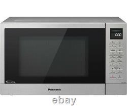 Panasonic NN-ST48KSBPQ 1000W Solo Digital Microwave Oven 32L Stainless Steel