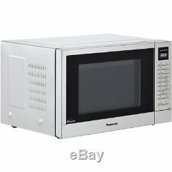 Panasonic NN-ST48KSBPQ 1000 Watt Microwave Free Standing Stainless Steel