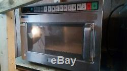 Panasonic Ne1856 1800w Commercial Microwave Oven Warranty Pat Tested Catering