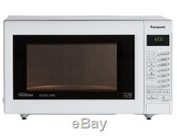 Panasonic White NN-CT555W 27L 1300W Convection Grill Microwave Oven Touch
