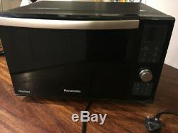 REDUCED Panasonic NN-DF 386 BBPQ Combination Flatbed Microwave Black