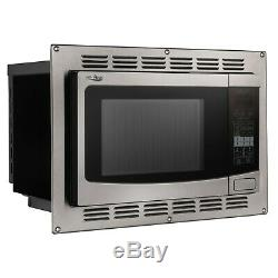 RecPro RV Convection Microwave Stainless Steel 1.1 cu. Ft. 120V