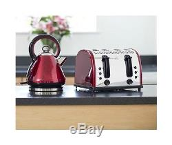 Red Microwave Kettle and Toaster Russell Hobbs Vintage Kettle & 4 Slice Toaster