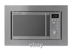 Russell Hobbs 20L 800W Stainless Steel Integrated Microwave with Grill RHBM2001