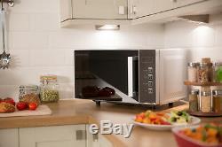 Russell Hobbs 23L Silver Flatbed Digital Microwave RHEM2301S