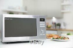 Russell Hobbs 30L Digital Combination Microwave with Grill 900W Stainless Steel