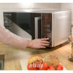 Russell Hobbs Microwaves RHEM2301S 800 Watt Microwave Free Standing Silver