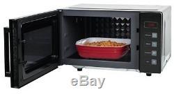 Russell Hobbs RHEM2301B Easi Microwave Family Black Flatbed Digital Microwave