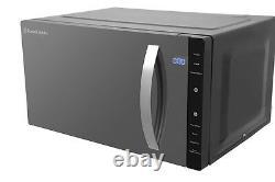 Russell Hobbs RHFM2363B Black Flatbed Microwave 800W 23L