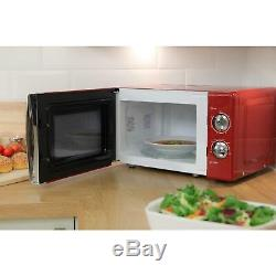 Russell Hobbs RHMM701R 17L Microwave Oven Red RHMM701R