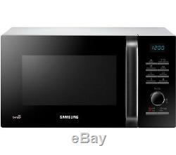 SAMSUNG MS23H3125AW Solo Microwave Black & White