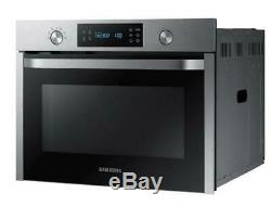 SAMSUNG NQ50K3130BS- Built-In Solo Microwave 50L, Steam-cleaning