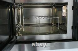 SMEG FMI325X Microwave Oven & Grill Stainless Steel & Eclipse Glass RRP£429