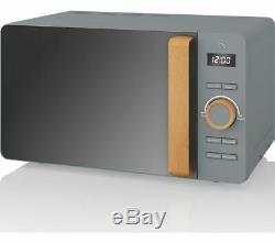 SWAN Nordic SM22036GRYN Solo Microwave Grey Currys