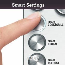 Sage BMO700BSS The Quick Touch Crisp Microwave, 44cm x 52cm x 31cm