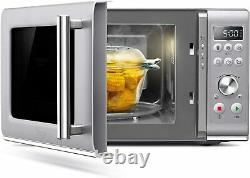 Sage Compact Wave Microwave with Soft Close Stainless Steel 25L 800 Watts