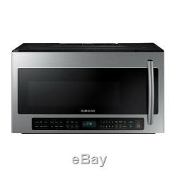 Samsung ME20H705MSS 2-cu ft Over-the-Range Microwave with Sensor Cooking