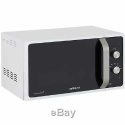 Samsung MS23F301EAW White/Silver Microwave 800W Freestanding, 23 Litre
