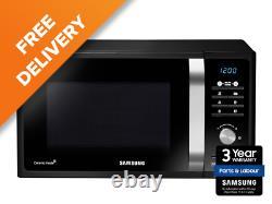 Samsung MS23F301TAK/EU 23 Litre Black 800W Solo Microwave Ceramic Interior