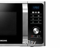 Samsung MS23F301TAS Silver 23 Litre Solo Microwave Brand New