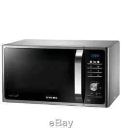 Samsung MS23F301TAS Solo Microwave Oven, Silver 23L