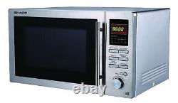 Sharp R82STMA 25L 900W Combination Stainless Steel Microwave Oven with Defrost