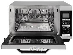 Sharp R861 Flat Tray Combination Microwave Silver