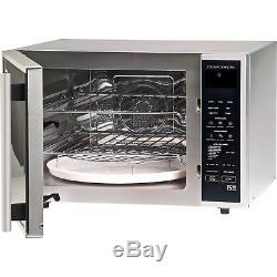 Sharp R959SLMAA 40L 12 Programmes Combination Microwave Oven in Silver & Black