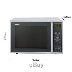 Sharp R959SLMAA 40L 900W Freestanding Touch Control Combi Microwave in R959SLMAA