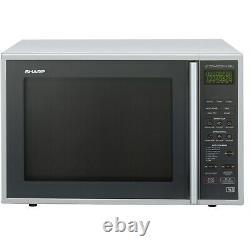 Sharp R959SLMAA 40L Digital Combination Microwave Oven Silver & Blac R959SLMAA