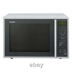Sharp R959SLMAA 900w 40Litre Convection/Grill Microwave in Silver/Black