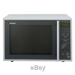 Sharp R959SLMAA Combination Microwave Grill 40 Litres 900W Silver
