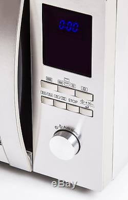 Sharp R982 Combination Oven Microwave, 42 Litre, 1000 W, Stainless Steel