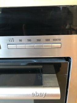 Siemens HB86P575B Built in Microwave Oven in Stainless Steel