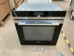 Siemens HM676G0S6B Oven Combi Microwave Stainless Steel Refurbished
