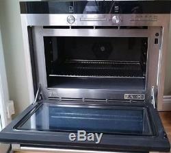 Siemens IQ500 Stainless Steel Combination Microwave, Oven And Grill