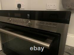 Siemens iQ700 compact45 microwave combination oven stainless steel HB84E562B