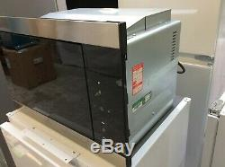 Smeg FMI325X 25L Classic Built-in Microwave with Grill Stainless Steel #RW14635
