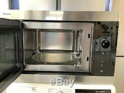 Smeg FMI325X 25L Classic Built-in Microwave with Grill Stainless Steel #RW15096