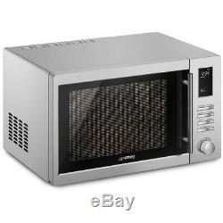 Smeg MOE34CXIUK 1000 Watt Microwave Free Standing Stainless Steel