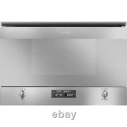 Smeg MP422X Microwave & Grill Cucina Built-in 22L 850W Stainless Steel RRP £521