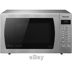 Stainless Panasonic Nn-ct585s Slimline Combination Oven Inverter Microwave