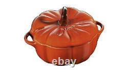 Staub set of 4 Petite pumpkin Cocotte Serving + Zwilling Stainless steel Soap