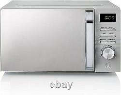 Swan 20L 700W Grey Symphony Digital Microwave SM22038GRN -2 Years Guarantee